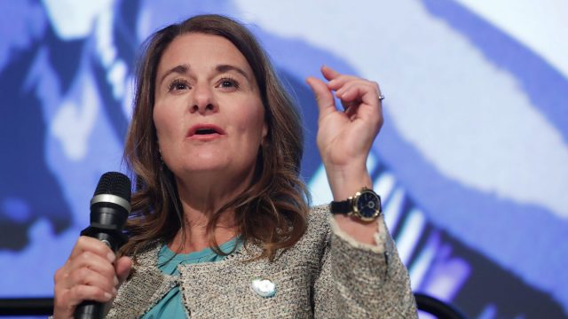 Melinda Gates. Photo by Chip Somodevilla