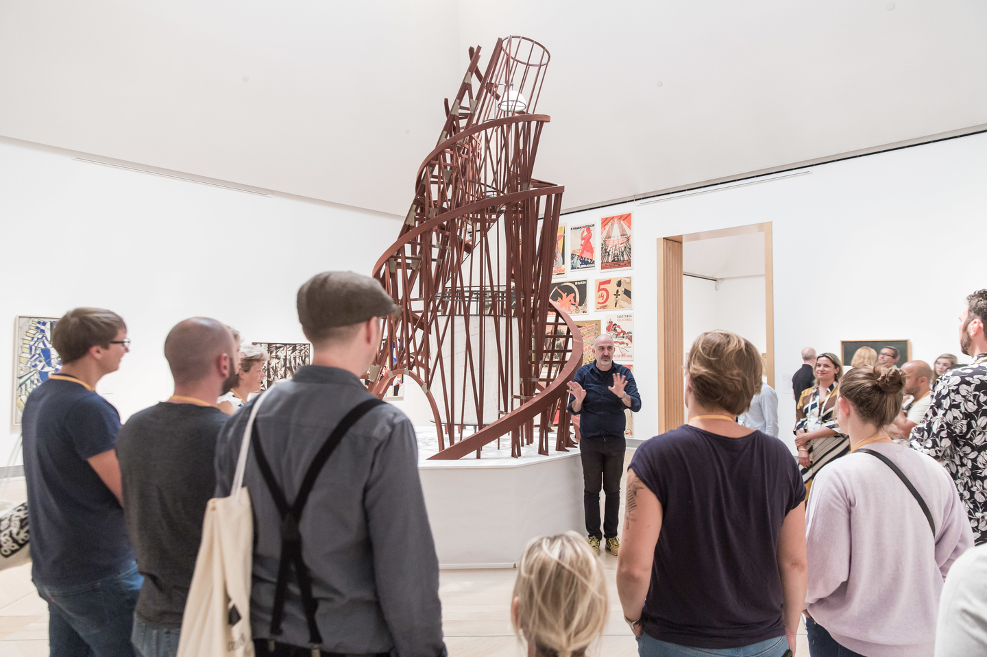 During Exploration Day's Art & Architecture program, registrants enjoyed a guided tour of the Moderna Museet. Photo by Markus Nass/Daimler AG