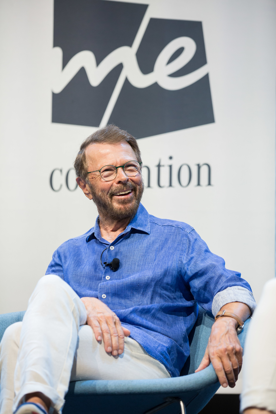 ABBA co-founder and singwriter, Björn Ulvaeus during