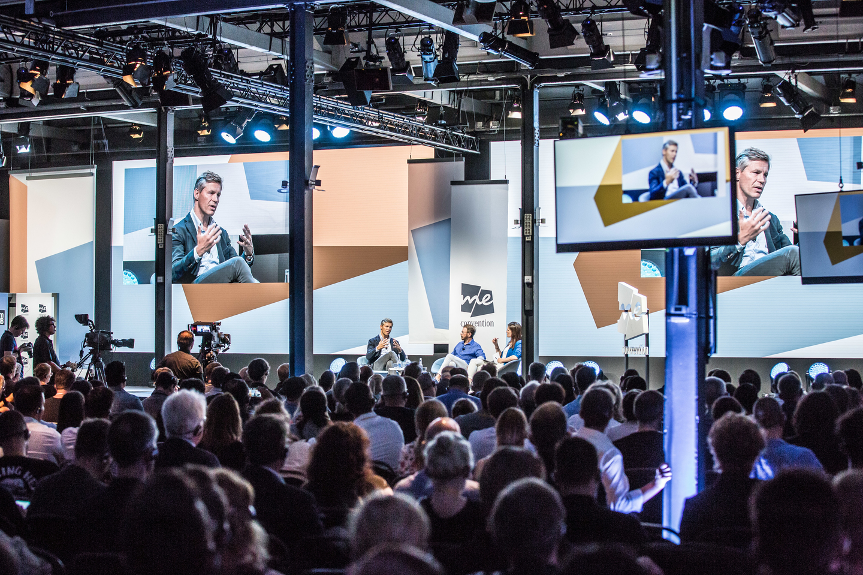 Frank Briegmann: President & CEO, Universal Music Central Europe & Deutsche Grammophon, speaks onstage during