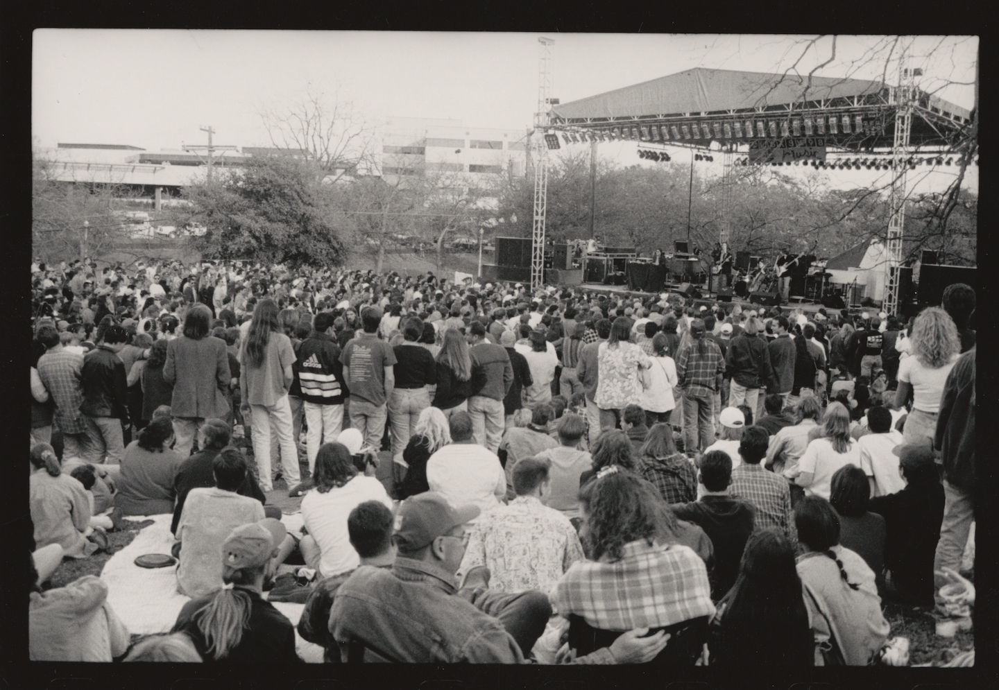 Outdoor Stage, 1999. Photo by Shelley Rutledge