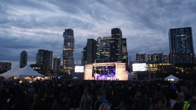 SXSW 2019 Outdoor Stage - Photo by Hubert Vestil/Getty Images for SXSW