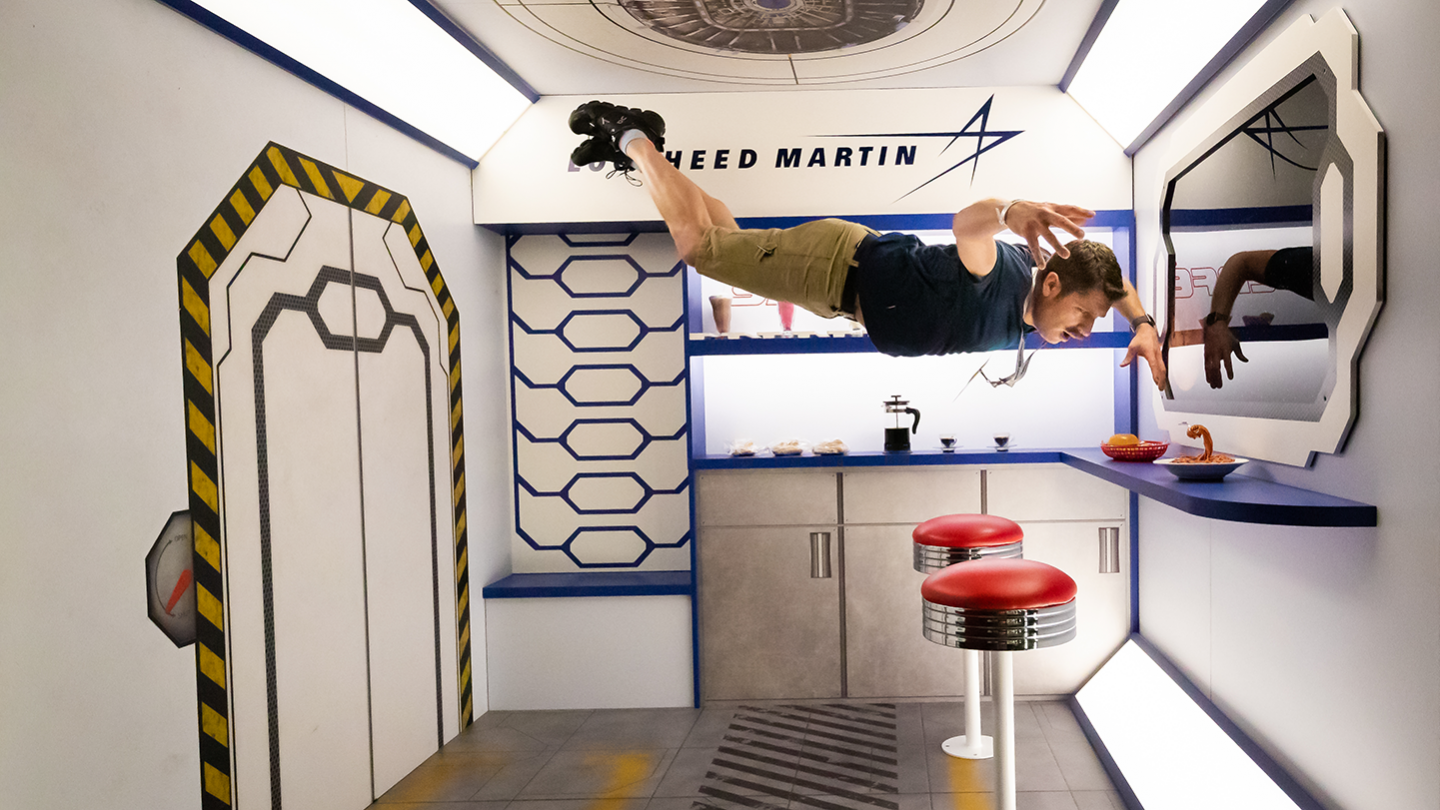 Lockheed Martin at the SXSW Trade Show 2019 - Photo by Aaron Rogosin