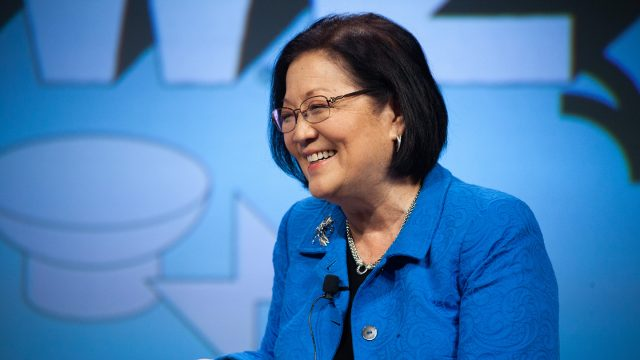 2019 Featured Speaker, Senator Mazie Hirono - Photo by Debra Reyes