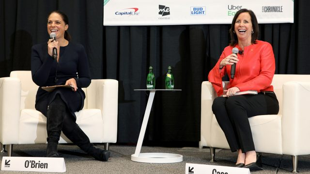 Soledad O'Brien and Jean Case - Be Fearless - 2019 Session - Photo by Mike Jordan/Getty Images for SXSW