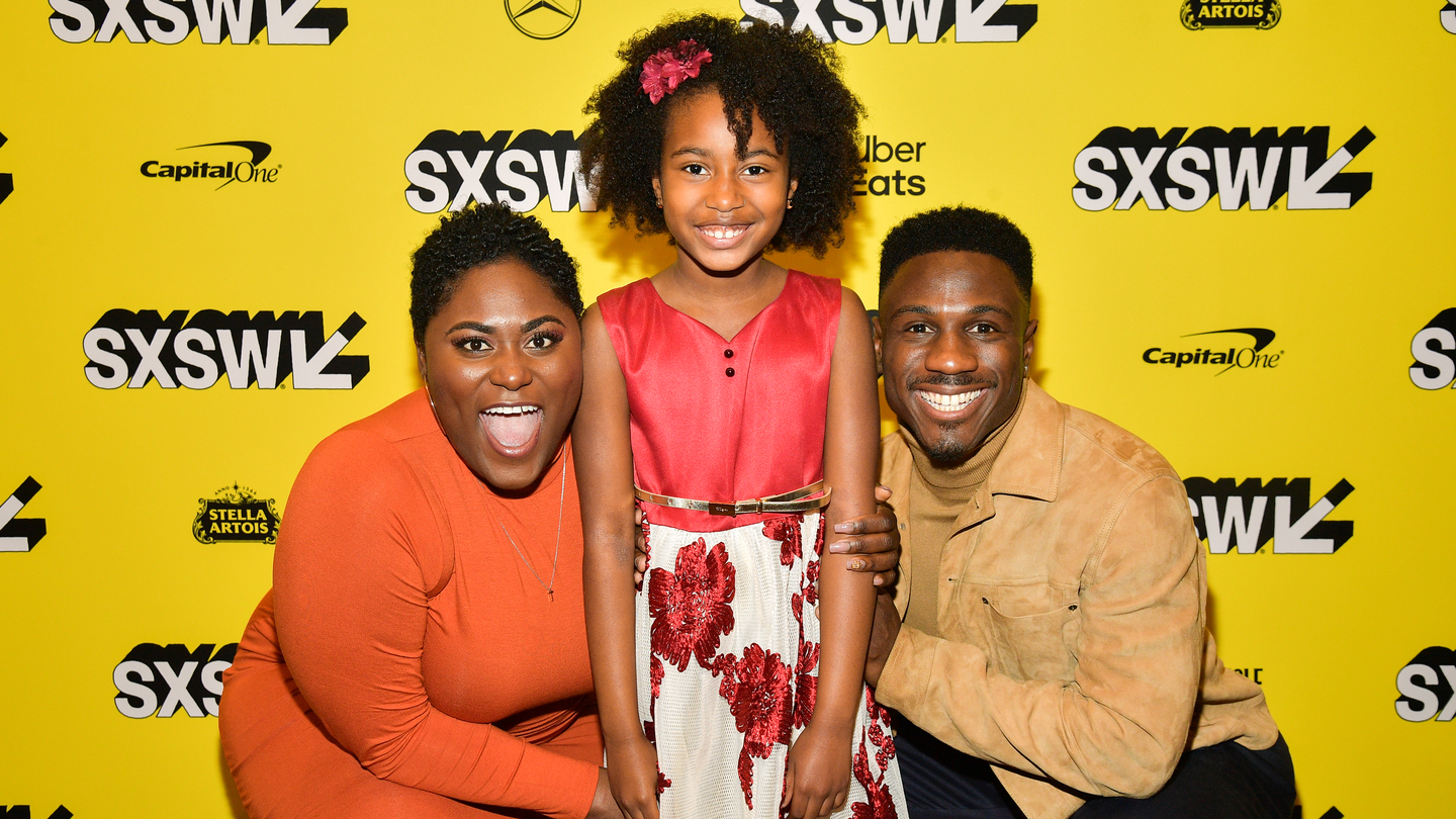 """Danielle Brooks, Calah Lane, and Marchánt Davis attend the """"The Day Shall Come"""" Premiere 2019 SXSW Conference and Festivals at Paramount Theatre on March 11, 2019 in Austin, Texas. (Photo by Matt Winkelmeyer/Getty Images for SXSW)"""