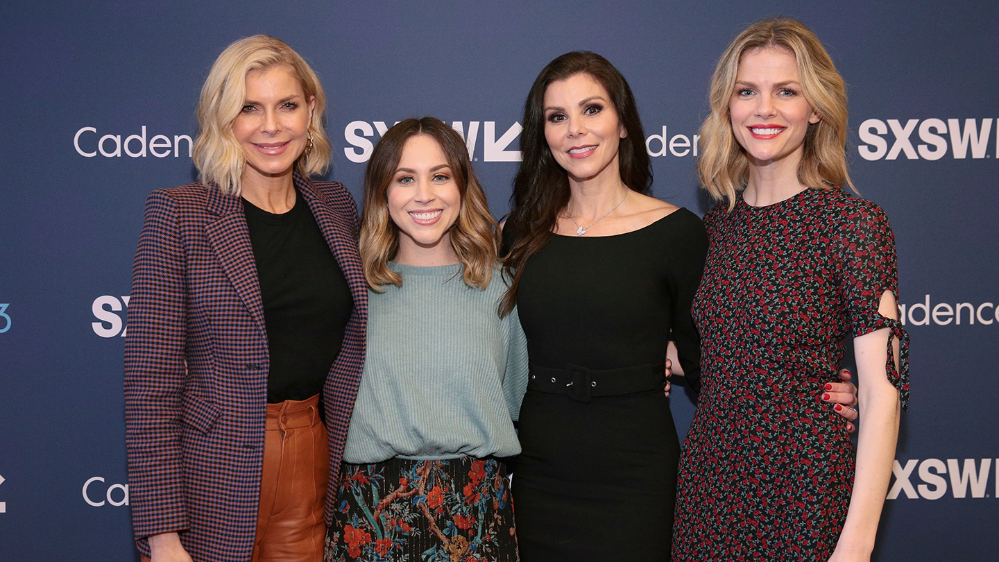 2019 SXSW Podcast Recording: Whitney Casey, Jaclyn Johnson, Heather Dubrow, and Brooklyn Decker attend Heather Dubrow's World Podcast - Photo by Steve Rogers Photography/Getty Images for SXSW