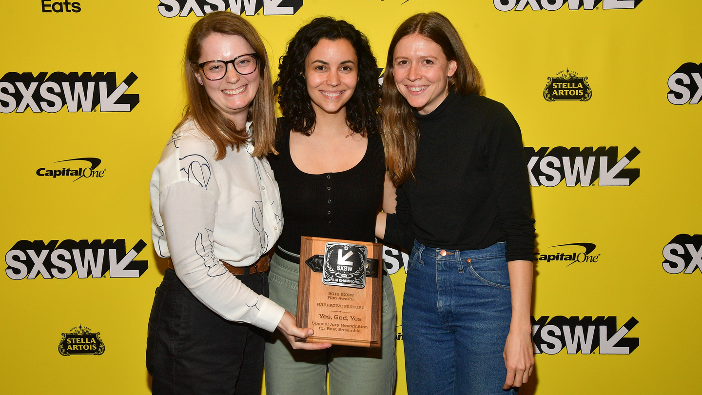 Film Award Winners for Yes, God, Yes - Photo by Matt Winkelmeyer/Getty Images for SXSW