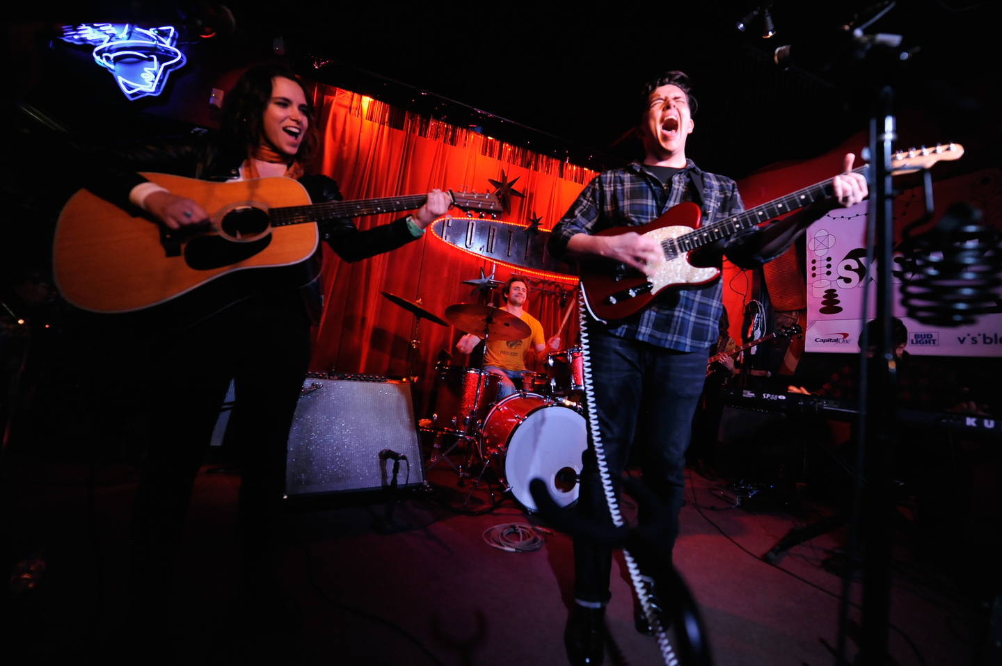 Jason Hawk Harris at Continental Club, presented by Bloodshot Records – Photo by Nicola Gell/Getty Images for SXSW