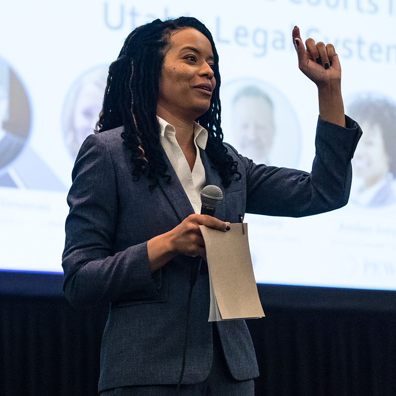 Adopting Online Courts Utahs Legal System - Amber Ivey - 2019 - Photo by Bianca Hooks
