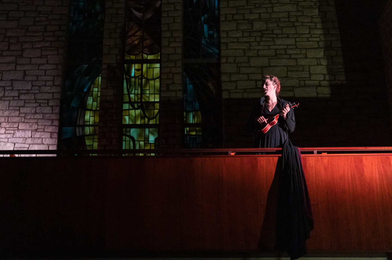 Amanda Palmer at Central Presbyterian Church – Photo by Jon Currie