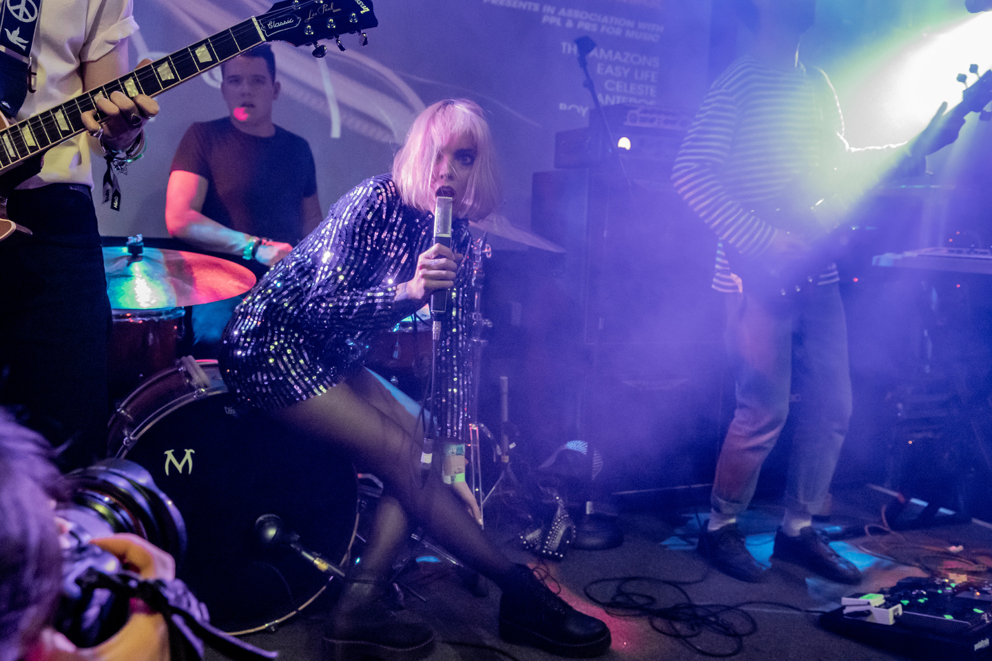 Anteros at British Music Embassy @ Latitude 30, presented by BBC Radio 1 in association with PPL & PRS for Music – Photo by David Walker