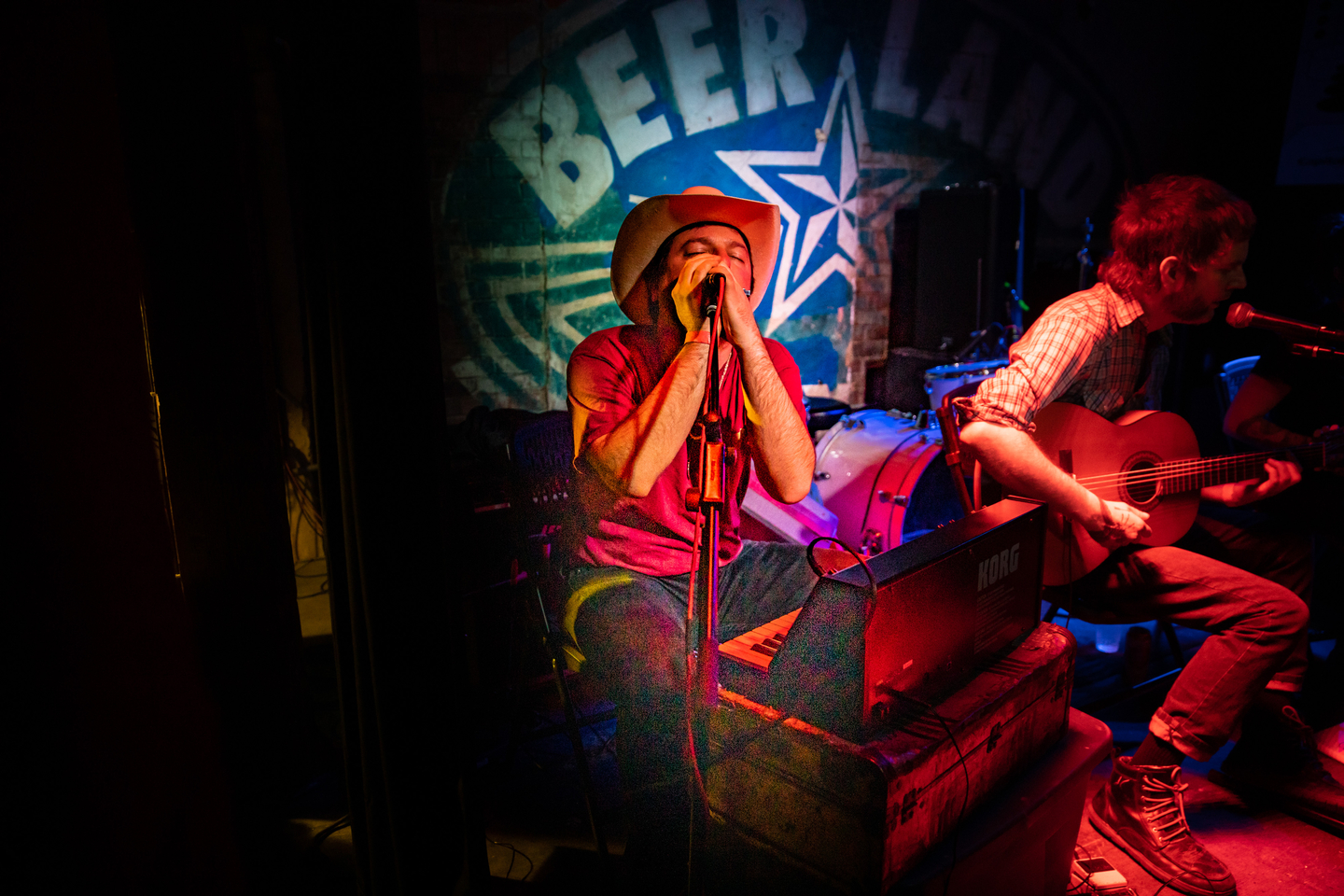 Aquarian Blood at Beerland, presented by Goner Records – Photo by Cris DeWitt