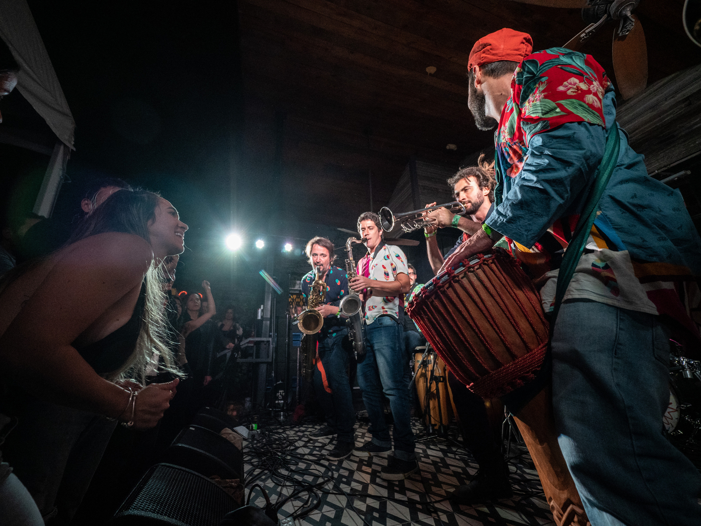 Bixiga 70 at Lucille, presented by Brasil Music Club – Photo by Caleb Pickens