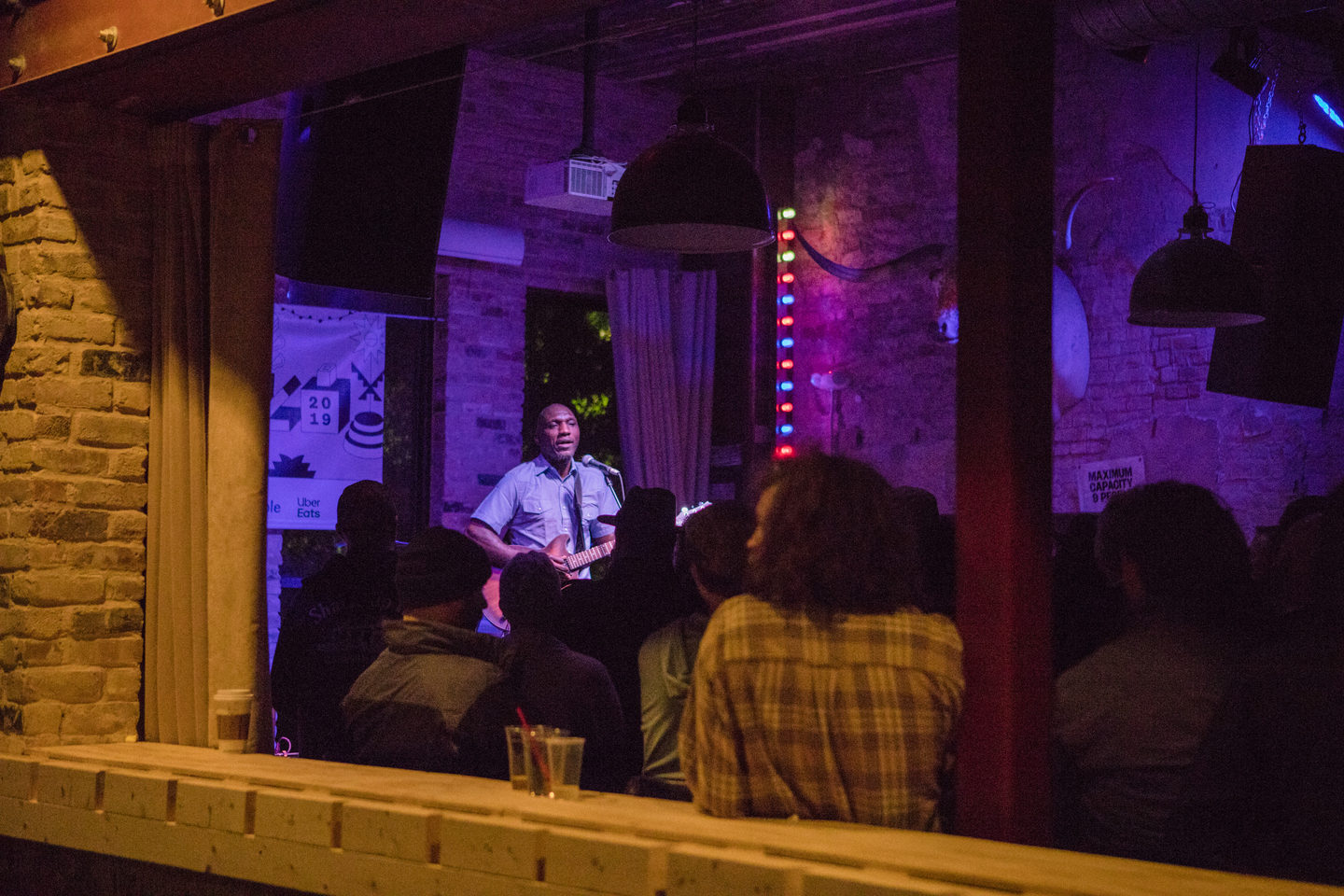Cedric Burnside at Cooper's BBQ, presented by Crossover Touring – Photo by Kaylin Balderrama