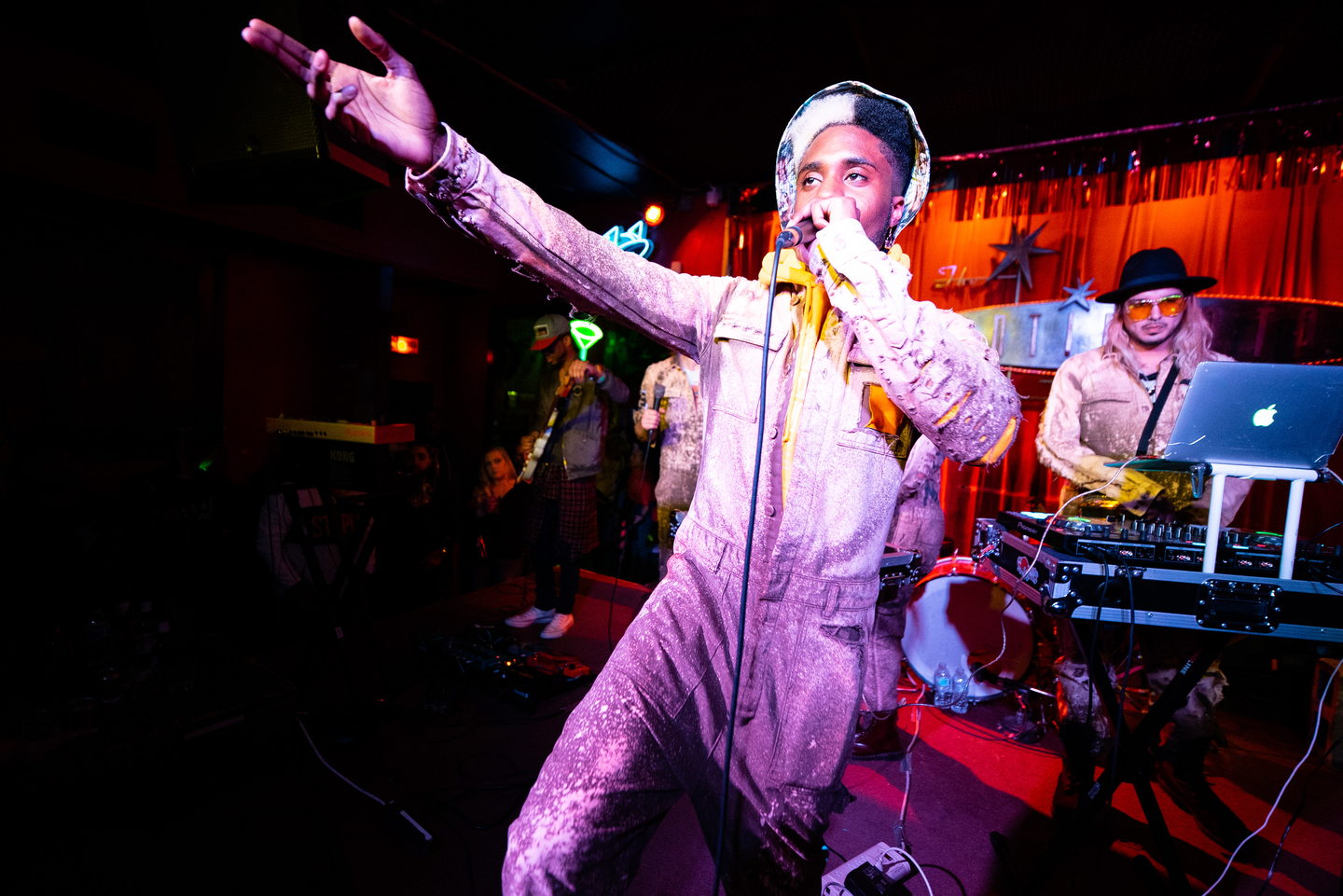 Cure For Paranoia at Continental Club, presented by Traffic Music – Photo by Kit McNeil