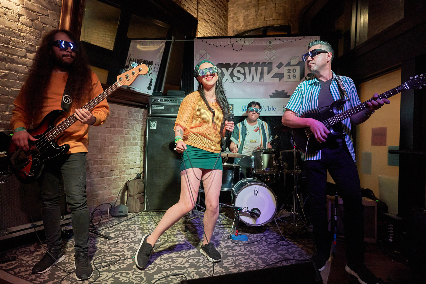 Edna and The Musicians at Speakeasy Kabaret, presented by Zona Indie – Photo by Naveed Parekh