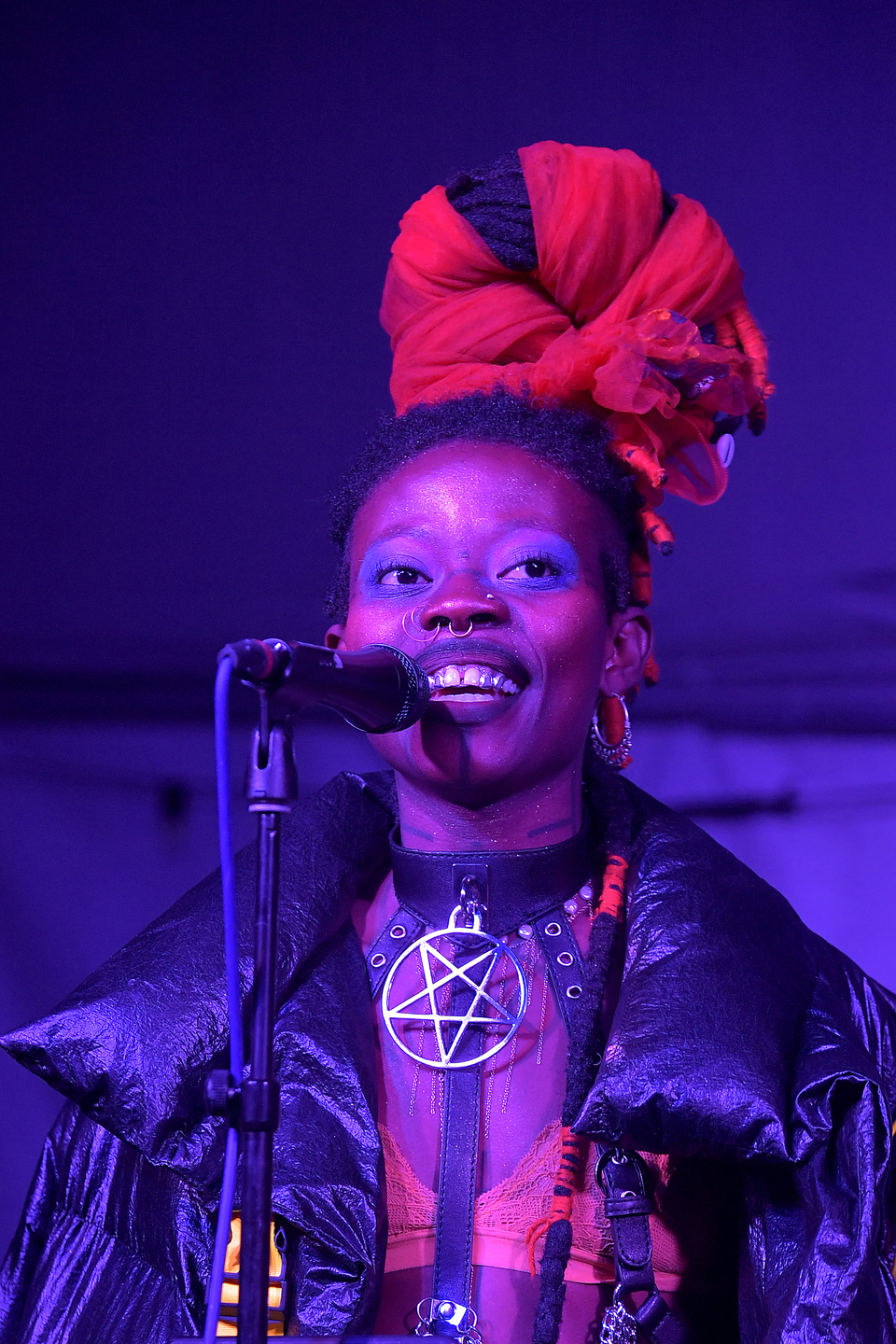 JOJO ABOT at Palm Door on Sixth, presented by Afropop Worldwide – Photo by Michael Loccisano/Getty Images for SXSW)