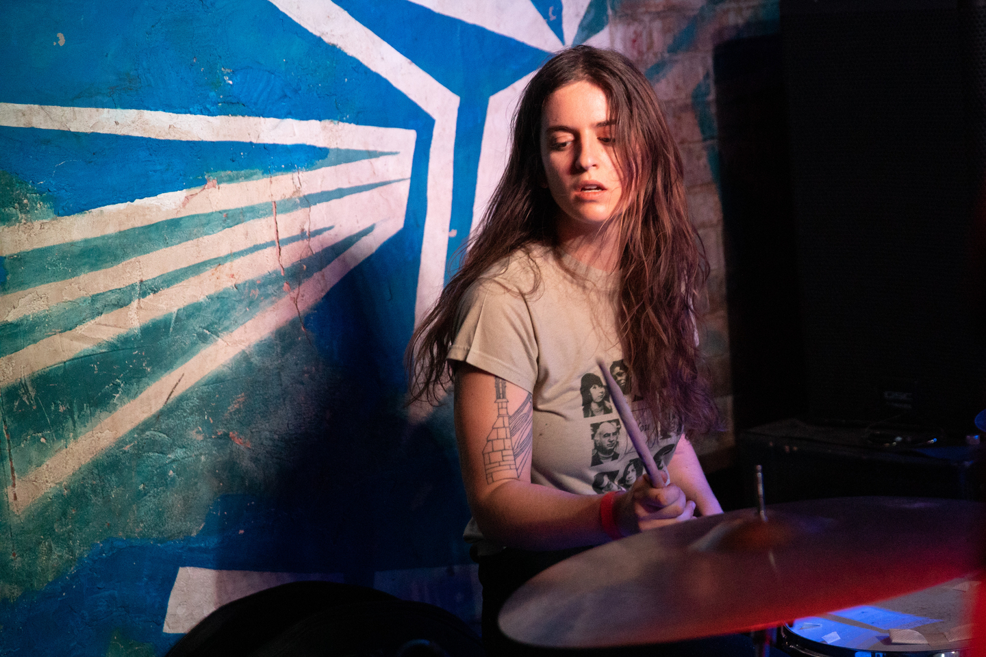 Hash Redactor at Beerland, presented by Goner Records – Photo by Cris DeWitt