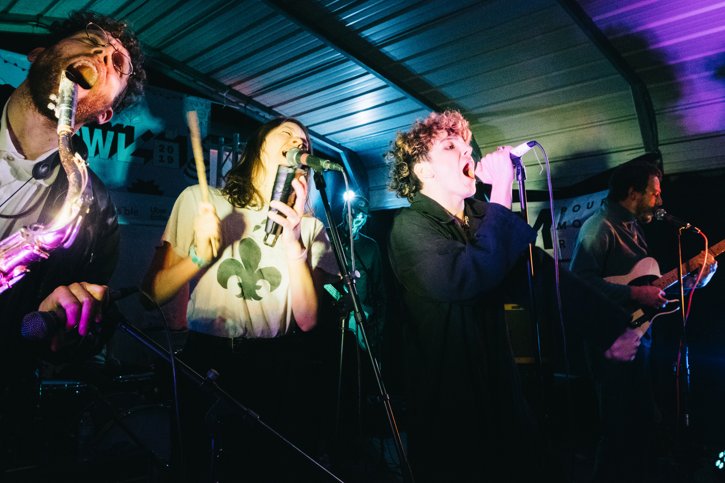 Hubert Lenoir at Swan Dive Patio, presented by M for Montreal – Photo by Alexandra Howard