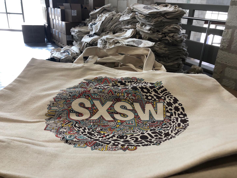 2019 Big Bag art by Sophie Roach