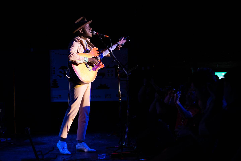 J.S. Ondara at Elysium, presented by KCRW – Photo by Tico Mendoza