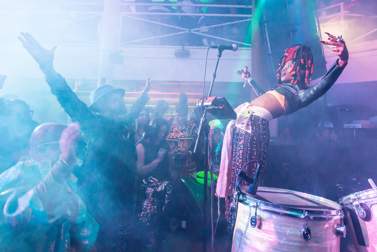 JOJO ABOT at Highland Lounge, presented by Africa To The World presented by Digiwaxx with Bavent Street Live & OkayAfrica – Photo by Joe Cavazos