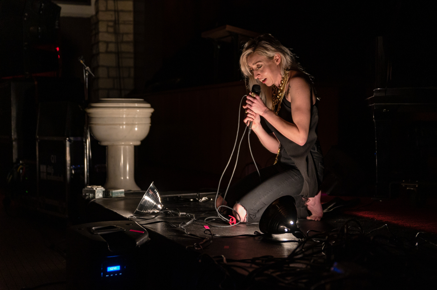 Lingua Ignota at Central Presbyterian Church – Photo by Jon Currie