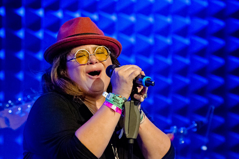 Mahya Veray y su Trauma at Parker Jazz Club – Photo by Denise Enriquez