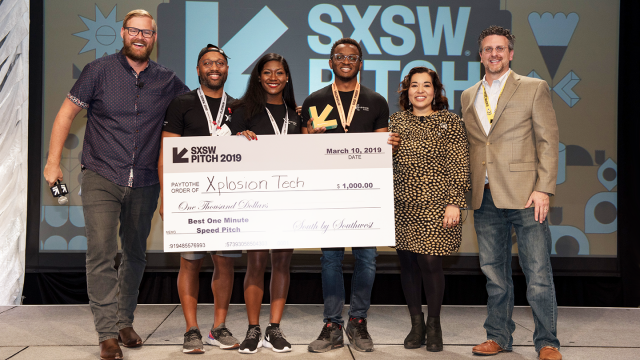 2019 SXSW Pitch Awards Ceremony – Photo by Camille Mayor