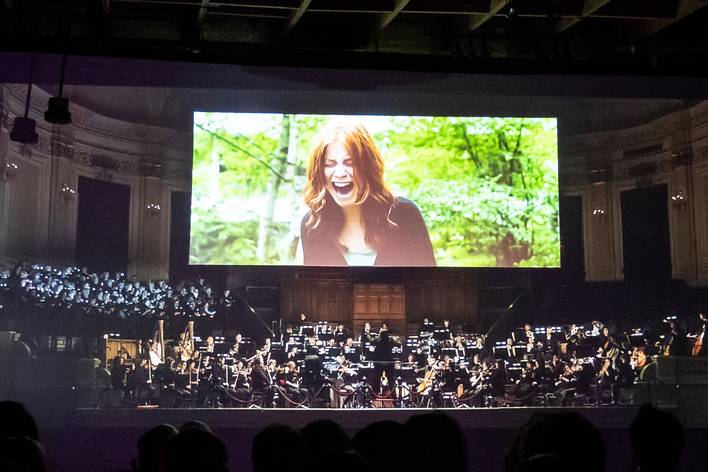 Symphonic Cinema by Lucas van Woerkum at Edwin's, presented by New Dutch Music – Photo by Scott Paxton