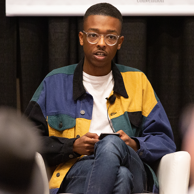 The Future of Gender Identities in Art and Media - Myles Loftin - 2019 - Photo by Miguel Esparza