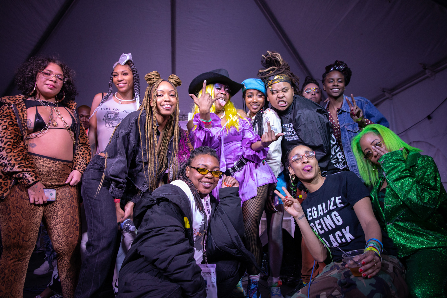 bbymutha at Palm Door on Sixth Patio, presented by Care Free Black Girl – Photo by Joann Hetrick