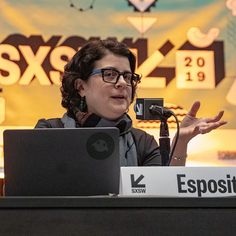 The Role of AI in Reducing the Impact of Pandemics - Jennifer Esposito - 2019 - Photo by Cris DeWitt