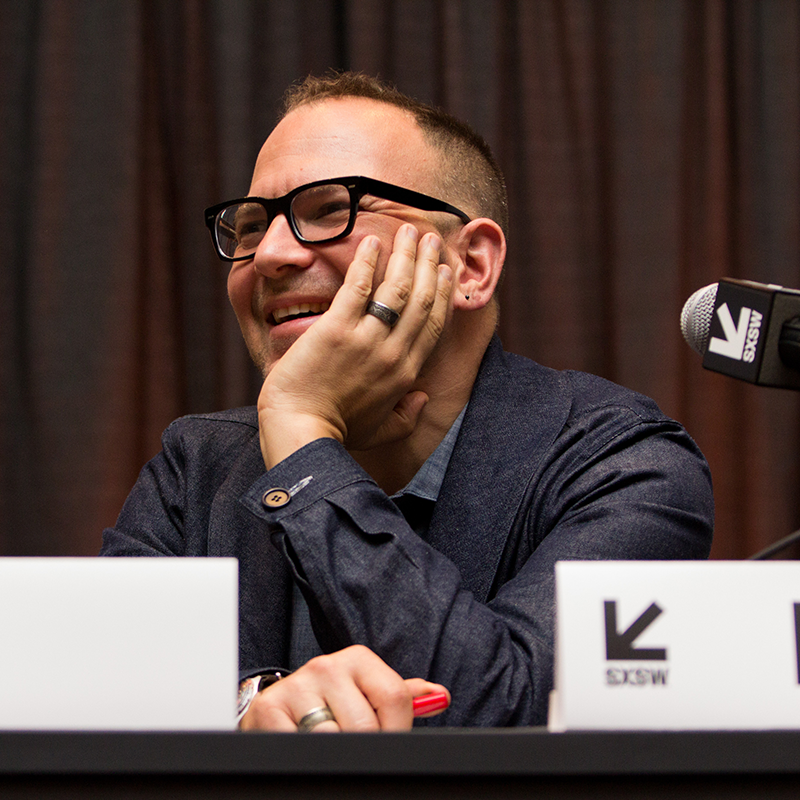 Untold AI-SciFi Telling Stories - Cory Doctorow - 2019 - Photo by Adrianne Schroeder