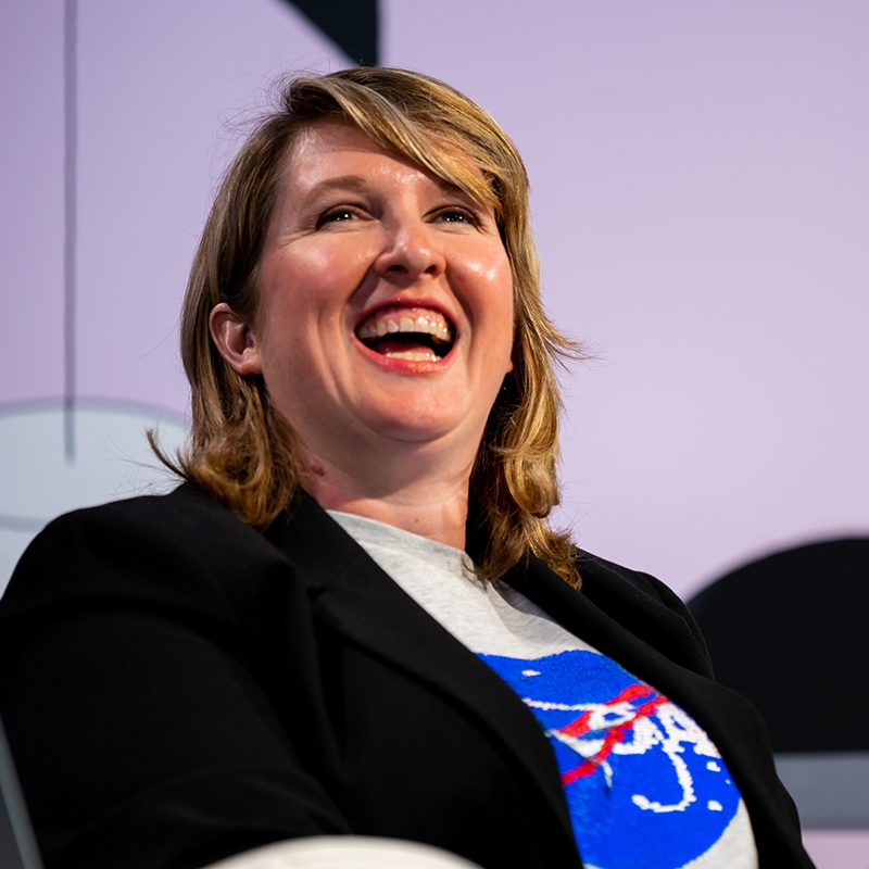Featured Session: Shooting Stars: How NASA Works with Film & TV - Stephanie Smith - 2019 - Photo by John Feinberg