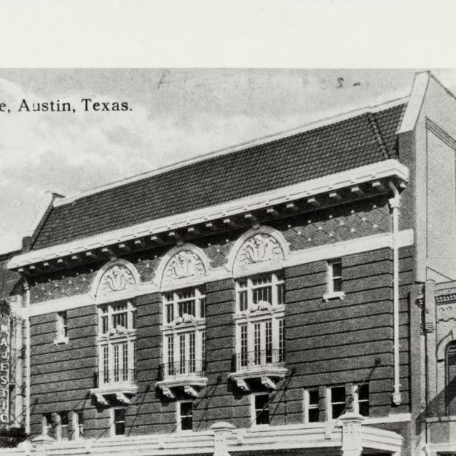 The Majestic during the 1920s
