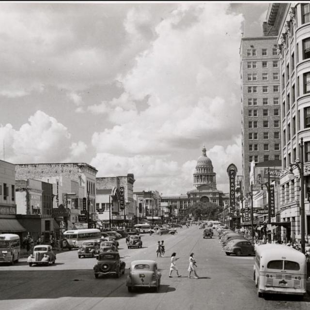 Congress Avenue in 1941