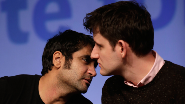 Kumail Nanjiani and Zach Woods - Photo by Dustin Finkelstein