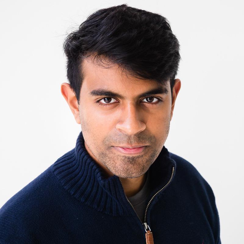 Vik Parthiban - Photo c/o speaker