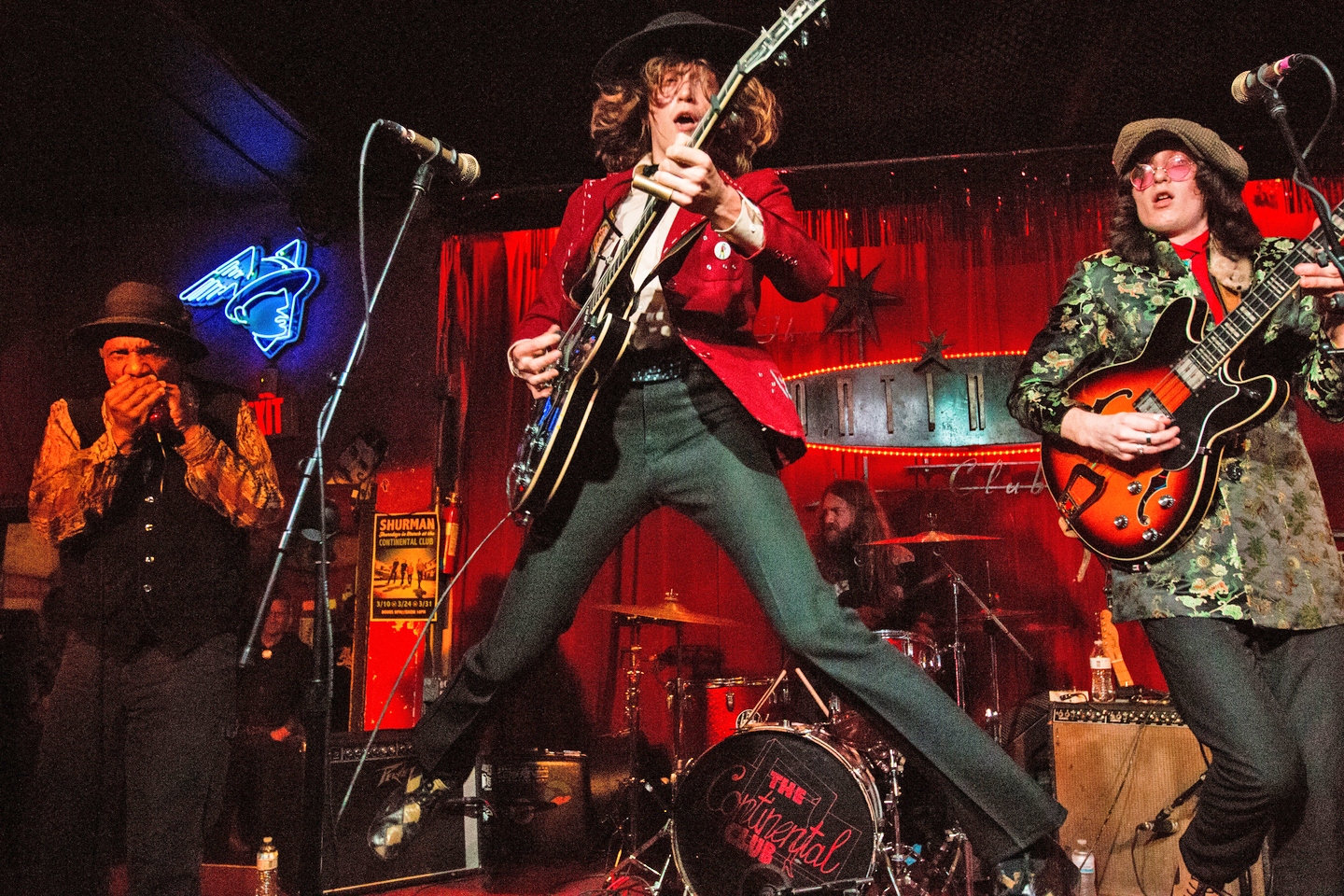 Blackfoot Gypsies at the Continental Club, SXSW 2016
