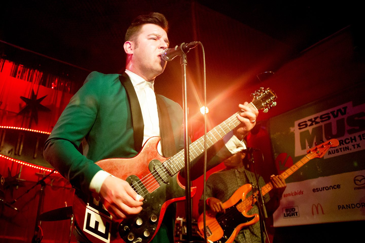 Eli Paperboy Reed at the Continental Club, SXSW 2016