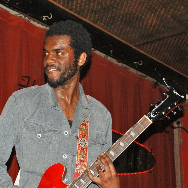 Gary Clark Jr. at the Continental Club, SXSW 2010