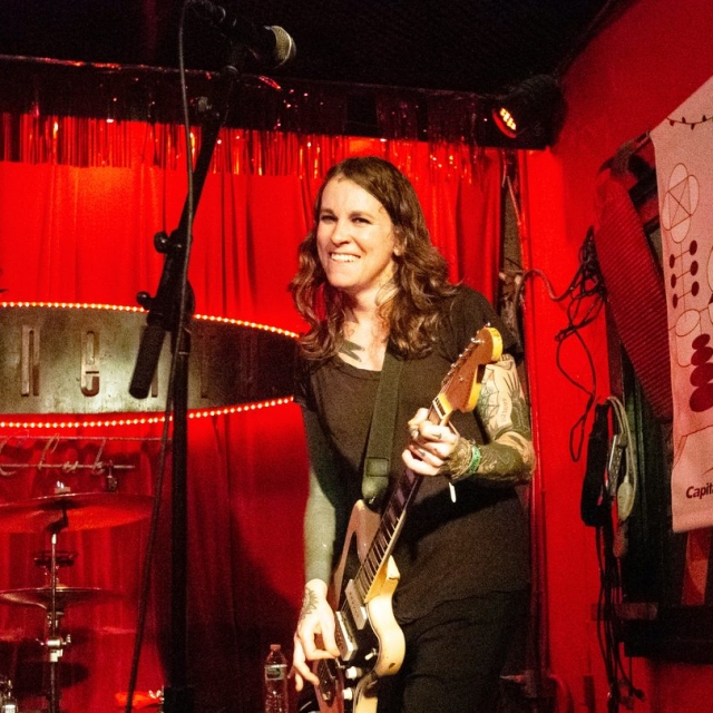 Laura Jane Grace & the Devouring Mothers at the Continental Club, SXSW 2019