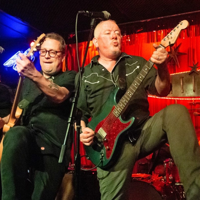 Waco Brothers at the Continental Club, SXSW 2019