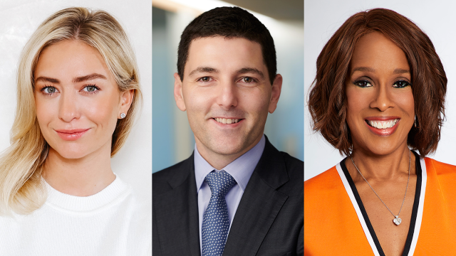 2020 Keynotes, Whitney Wolfe Herd, Jon Korngold, and Gayle King – Photo courtesy of the speakers