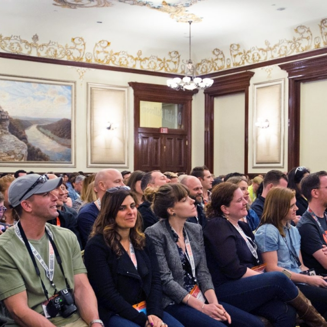 Life's a (Dinner) Party: Channeling Culinary Creativity session at The Driskill Hotel, SXSW 2015