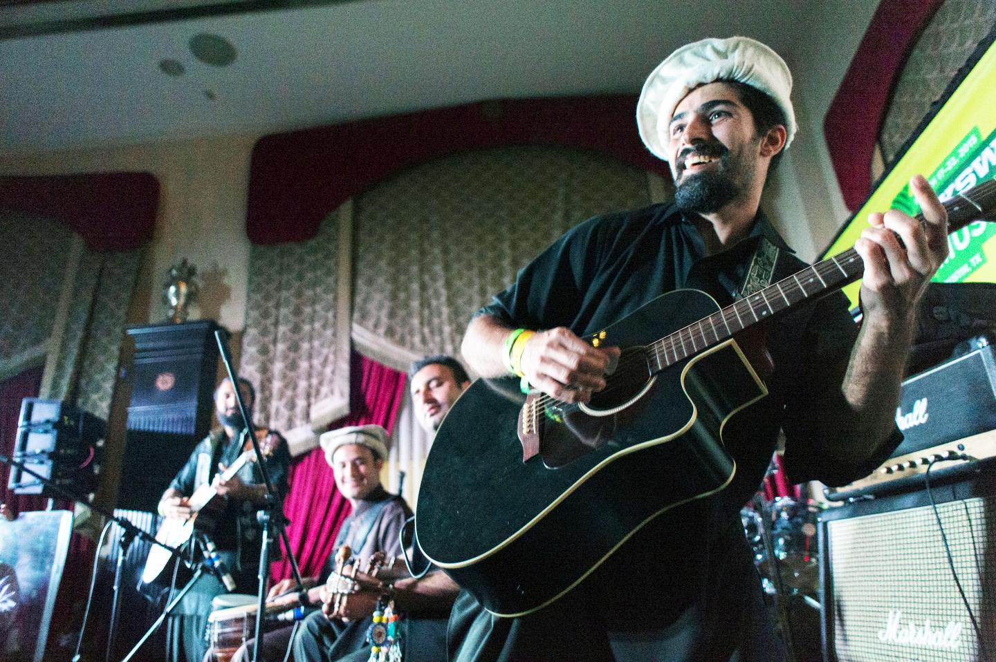 Khumaryann performs in the Victorian Room at The Driskill Hotel in Austin, Texas, SXSW 2015
