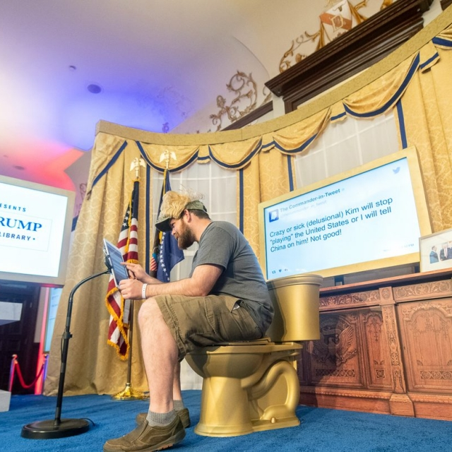 <em>The Daily Show</em> Presents the Donald J Trump Presidential Twitter Library at SXSW, 2019