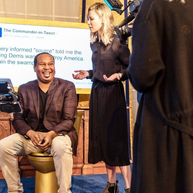 Roy Wood Jr. <em>The Daily Show</em> Presents the Donald J Trump Presidential Twitter Library at SXSW, 2019